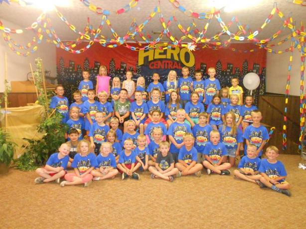 Murdo Draper Vbs Recruits Lots Of Heroes For Jesus Dakotas