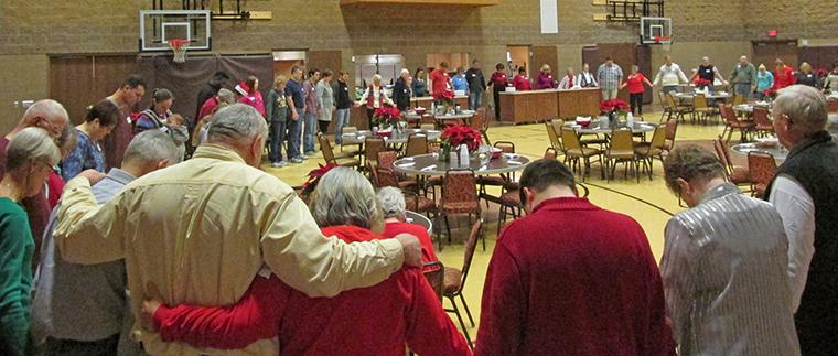 Christmas Dinner Prayer.Food And Fellowship Christmas Dinner At Aberdeen First Umc