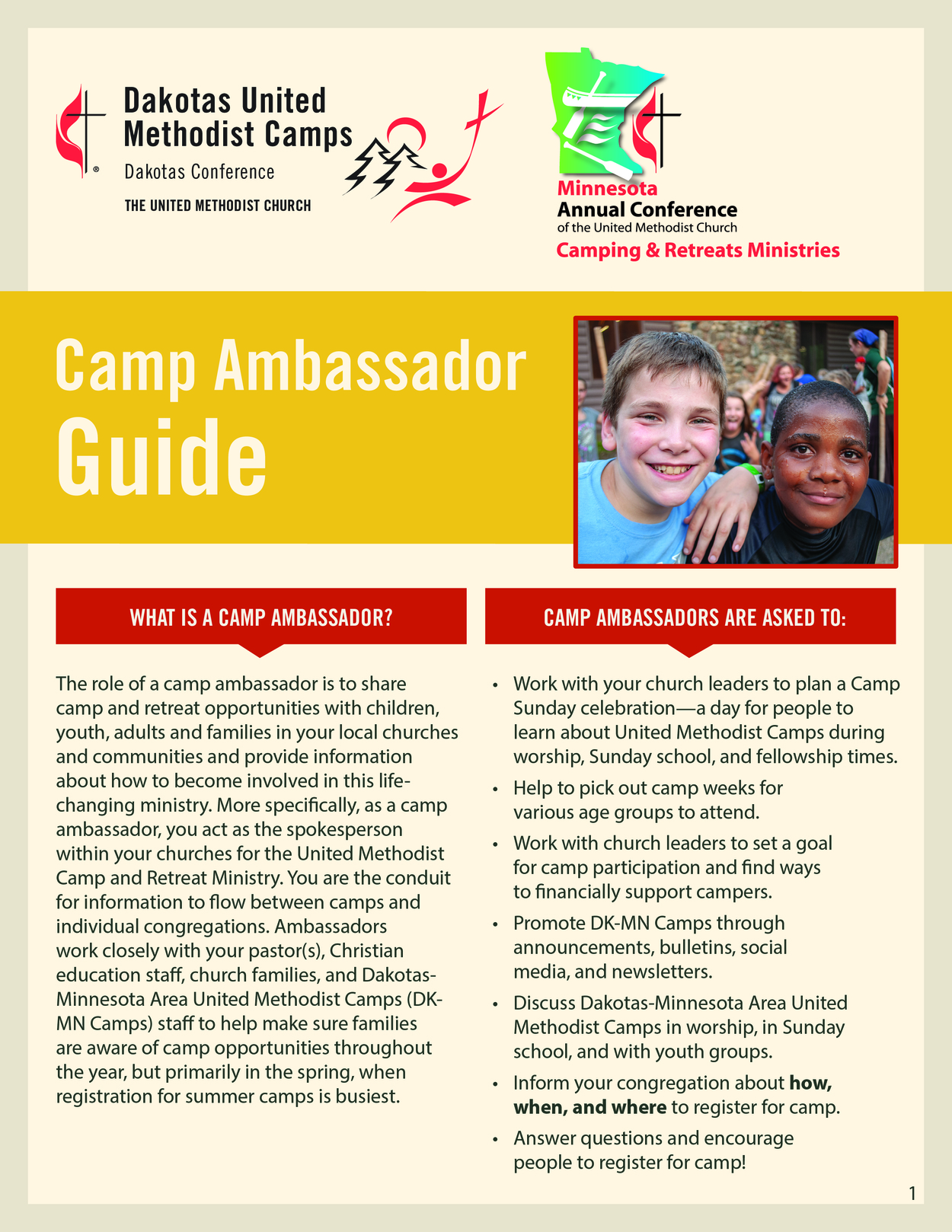 Camp Ambassador Guide