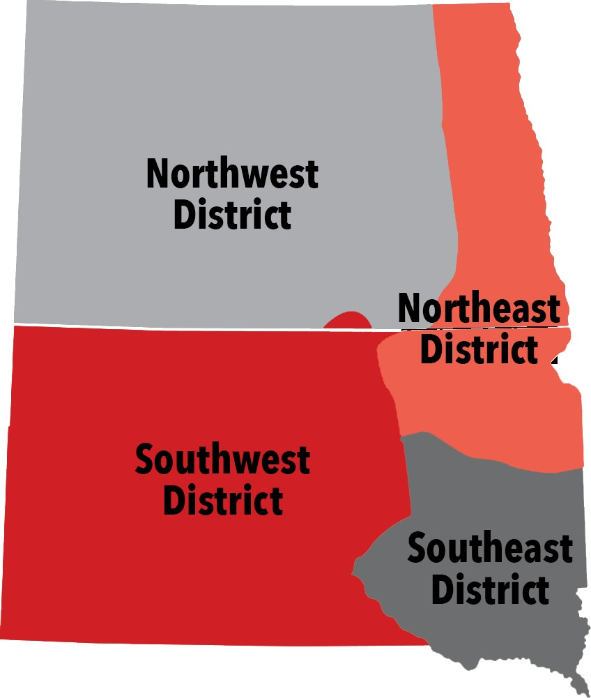Dakota Conference Districts