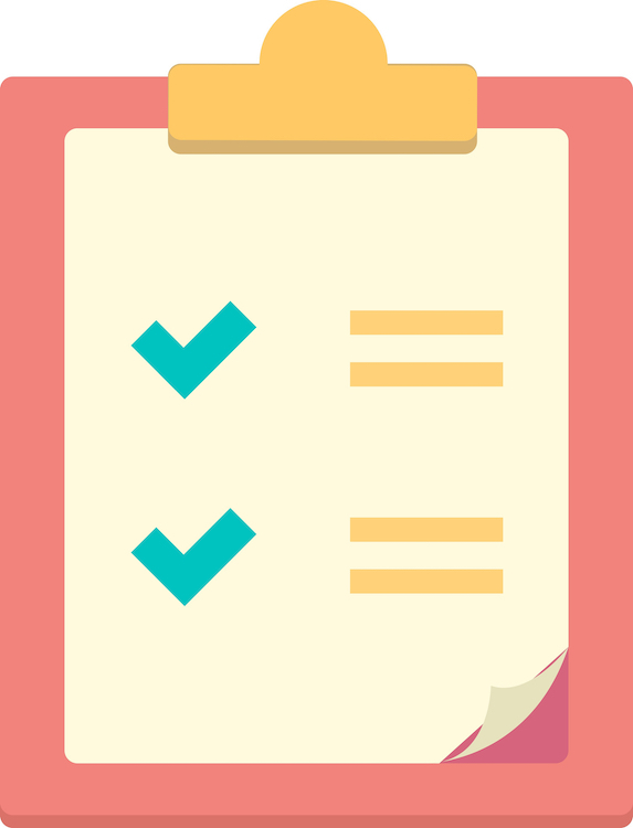 Clipboard Checkmarks